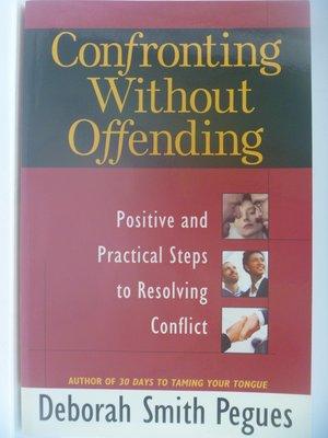 【月界】Confronting Without Offending_Deborah S. Pegues  〖宗教〗CCU