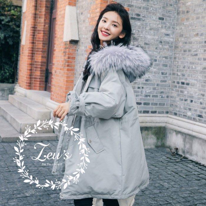 【ZEU'S】秋冬新款保暖休閒棉外套『 11318715 』【現+預】KB