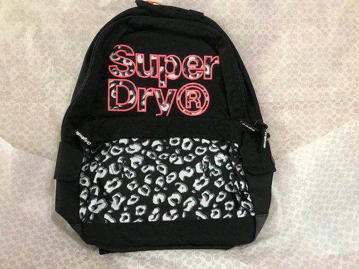 Superdry Backpack Montana Rucksack黑色後背包書包現貨抵台