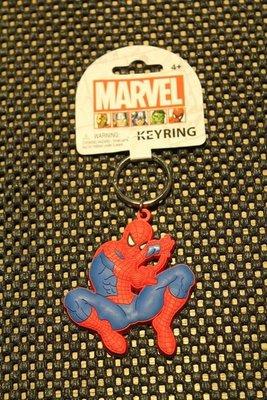 (I LOVE樂多)日本進口MARVEL 蜘蛛人軟膠立體鑰匙圈 送禮自用兩相宜