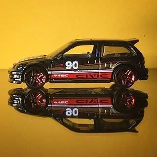 (I LOVE樂多)hot wheels 90 honda civic ef 風火輪 1:64