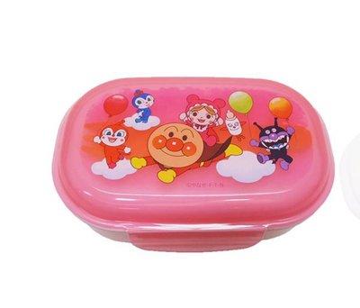 (現貨)日本製 聚丙烯 270ml 約13.5x8.5x5cm 兩側開合 食物盒 餐盒 連膠叉 耐熱140度 Anpanman 麵包超人 日本直送 全新品