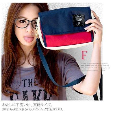 【(紅白藍)現貨!下標就出貨!】日本 anello 超輕量 側背包  斜背包 新竹市