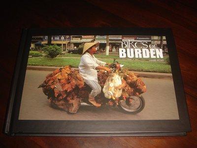 【三米藝術二手書店】HANS KEMP 攝影作品集:『BIKES OF BURDEN』~~珍藏書交流分享