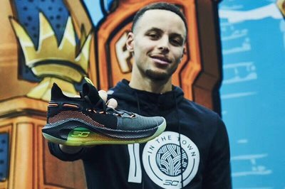 Under Armour Curry 6咖哩勇士隊3020612-004