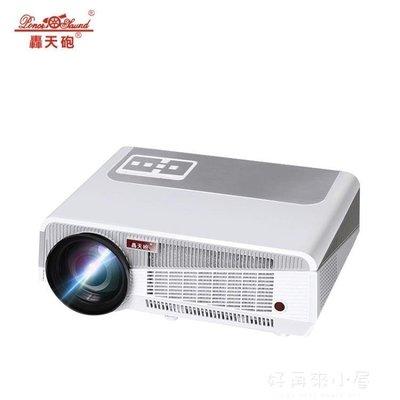 LED86 家用高清投影儀 3D智慧wifi辦公投影機 無屏投影電視 igo