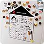 創意冰箱貼留言板可擦寫吸磁貼北歐ins可愛韓...