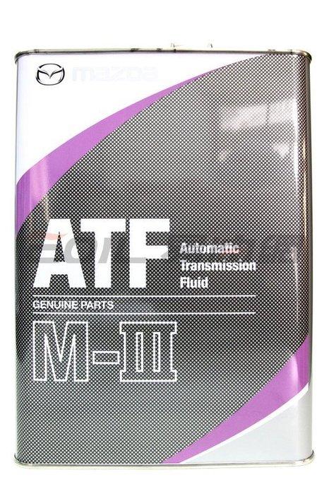 【易油網】【缺貨】 MAZDA ATF 自動變速箱油 自排油 M-III 日本原裝 馬自達 ENI Mobil