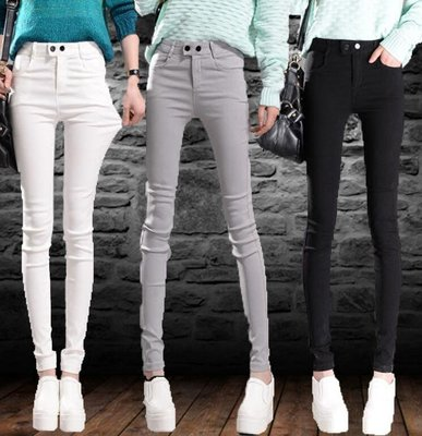 靴褲 打底褲 新款女褲子 韓版外穿百搭顯瘦 鉛筆褲 —莎芭