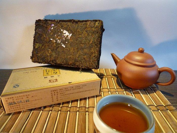 T-02 分享價  ㊣大益熟茶2007金針白蓮  勐海茶廠