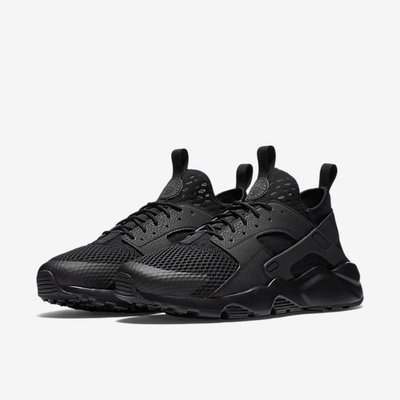 "Nike Air Huarache Run Ultra Breathe 耐克""black /  black"" 武士慢跑鞋 833147-001 男 桃園市"