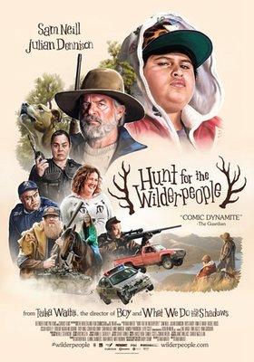 【藍光電影】搜尋世外野人 / 追捕野蠻人 / HUNT FOR THE WILDERPEOPLE (2016)