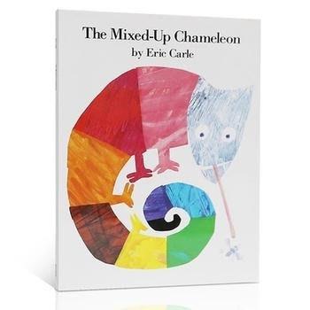 英文原版繪本廖彩杏有聲書單The Mixed-Up Chameleon 拼拼湊湊的變色龍  3-6歲故事圖畫書 動物認知