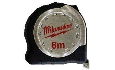 附發票 *東北五金*米沃奇Milwaukee 捲尺 8m 磁鐵雙面捲尺 48-22-6118F 8米尺~