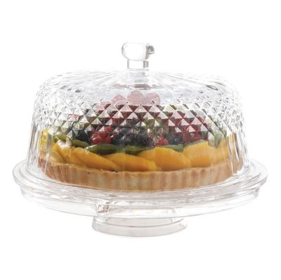 全新現貨 好市多 Laurie Gates 多功能玻璃蛋糕盤(1入)(680元)