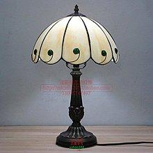 【美學】特價促銷歐式蒂凡尼旅館賓館睡房桌燈家床頭檯燈(小號)MX_1012