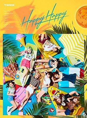 特價預購 特典IC卡付TWICE 周子瑜 Momo Sana HAPPY HAPPY (日版初回限定A盤CD+DVD)