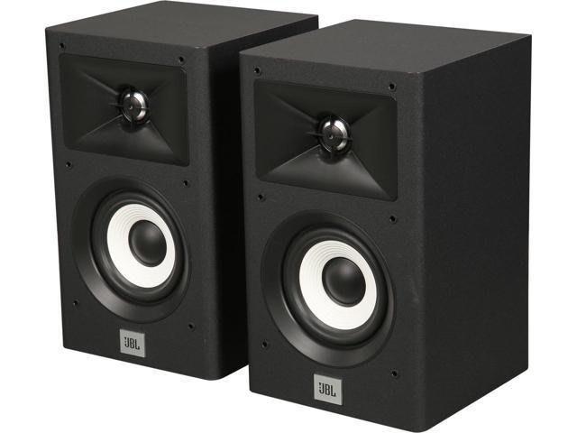 美國 JBL家庭劇院音響 Stage A120 書架型喇叭 環繞二音路 號角高音設計 音質優異~黑色 公司貨保固