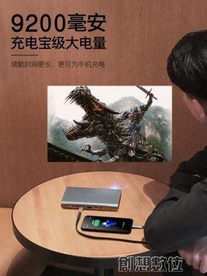 投影儀 家用wifi無線家庭影院手機微型迷你4K  DF
