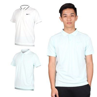 NIKE 男短袖針織POLO衫(短袖上衣 慢跑 網球【03320846】≡排汗專家≡
