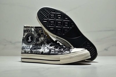 Converse x Suicidal Tenden 1970s帆布鞋。