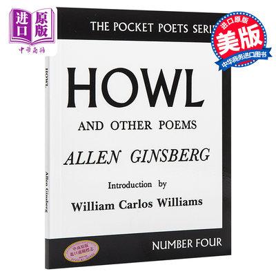 Howl and Other Poems 英文原版 嚎叫和其他詩歌 Allen Ginsberg