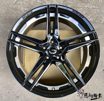 全新鋁圈 ESTATUS Style-757 20吋 5孔114.3 108 112 黑 (另有18吋/19吋/22吋)