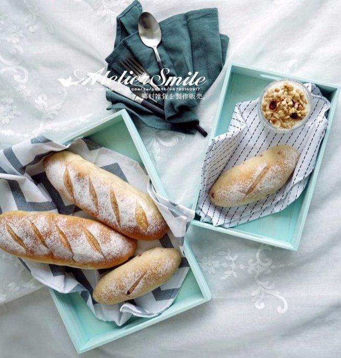[ Atelier Smile ] 鄉村雜貨 馬卡龍色 木製托盤 收納盤 六色選 # 小 28.5公分 (現+預)