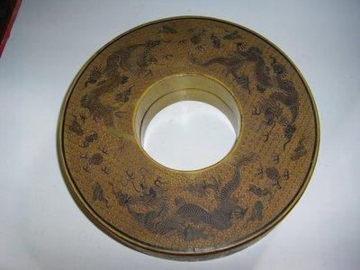 陶木屋 清 漆器朝珠盒大清乾隆年製