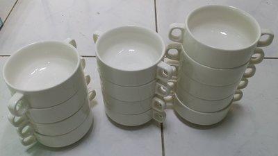 雙耳湯杯 4寸 湯碗 燉盅 大同瓷器