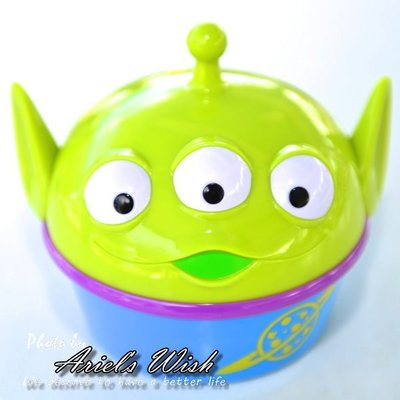 Ariels Wish日本Tokyo東京迪士尼Disney限定玩具總動員胡迪夾娃娃機三眼怪麻薯點心收納盒收藏桶-絕版品