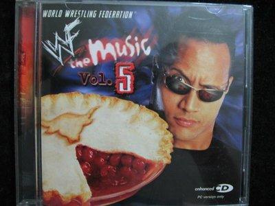 WORLD WRESTLING FEOERATION - WWF the Music Vol,5 - 2001年版 保存如新 - 301元起標 R9