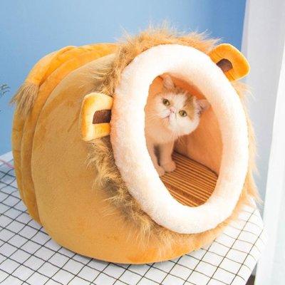 貓窩四季可拆洗別墅封閉式貓房子貓咪用品
