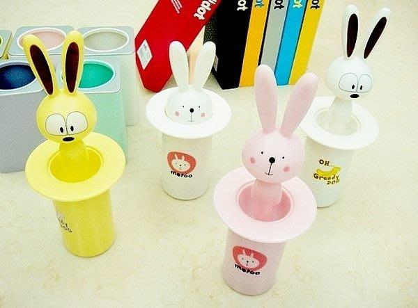 Y【小劉文具店 】 小兔兔造型牙籤罐/牙籤筒/贈品,送禮自用兩相宜~155