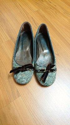 J.CREW 毛呢平底娃娃鞋 6.5號made in italy