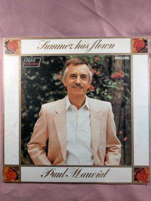 演奏/早期黑膠LP/Paul Mauriat/波爾˙瑪麗亞大樂團/Summer Has Flown 金聲代理 片況NM-