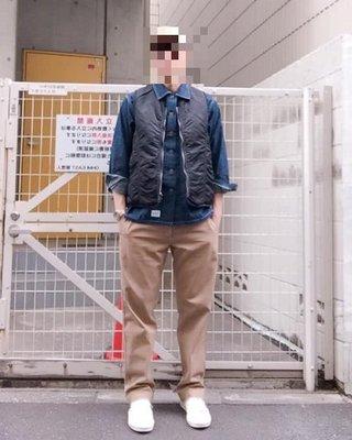 日牌 CASH CA 卡其 休閒 工作長褲 瑞士棉 Kazuki LUKER 倉石一樹 日本製 L號