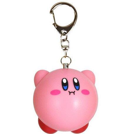41+現貨不必等 日本製 任天堂 卡比之星 Kirby 警報器 吊飾 掛飾 鑰匙圈 小日尼三 my4165