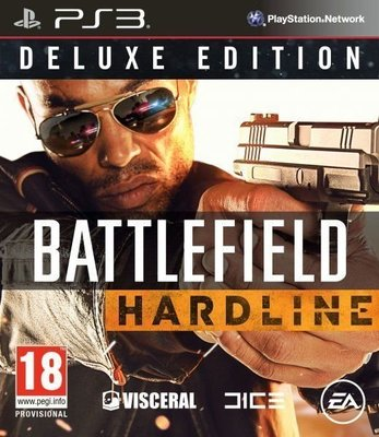 【二手遊戲】PS3 戰地風雲 強硬路線 BF BATTLEFIELD HARDLINE 英文版【台中恐龍電玩】