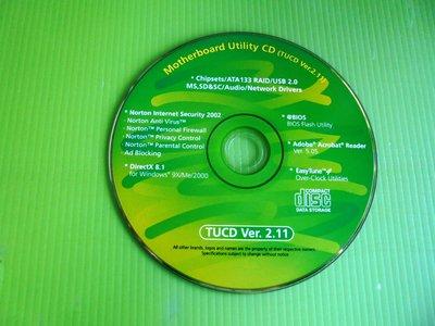 《啄木鳥小舖》<DRIVER~CD>技嘉 主機板驅動光碟(V2.11)[適用Win 98,2000,XP]
