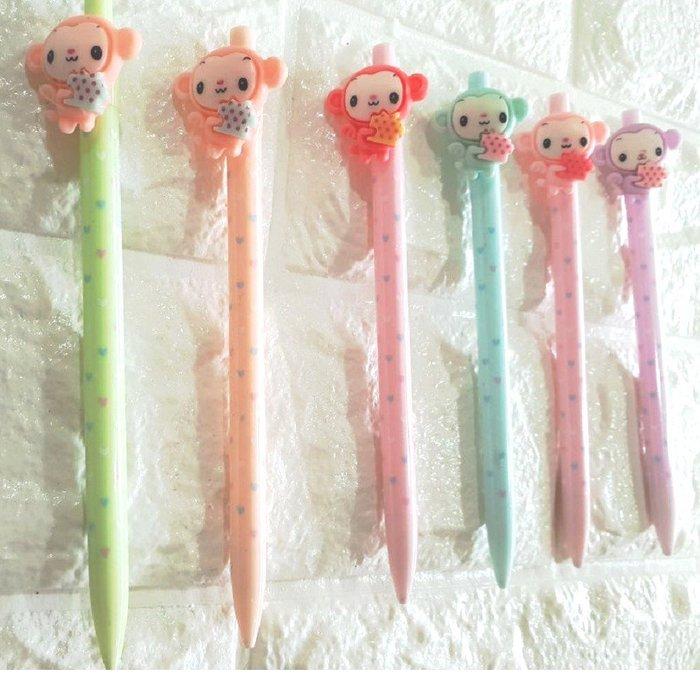 可愛猴造型 自動鉛筆