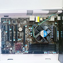 CPU BOX 盒裝  & (底版) ASRock