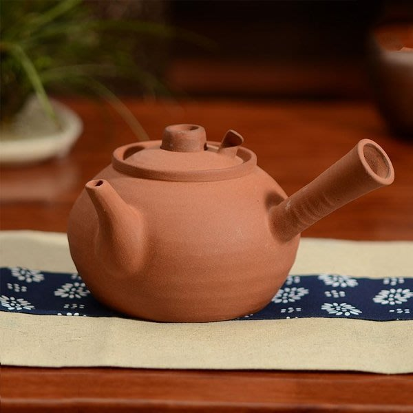 5Cgo【茗道】含稅會員有優惠 43308137534 原礦紅泥穿心砂铫玉書煨茶铫燒水壺手工茶铫砂挑煮茶壺燒水壺工夫茶