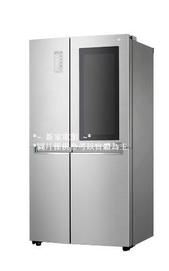 *~新家電錧~*【LG】[ GR-QL88N ]  敲敲門冰箱
