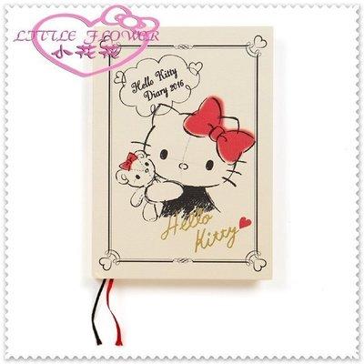 小公主日本精品 Hello Kitty 日本製 2016 行事曆 硬殼封面 復古寫真60222503 新北市