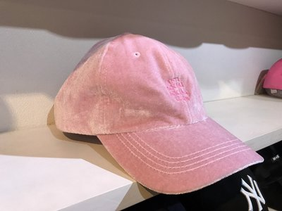 ☆LimeLight☆ Anti Social Social Club ASSC Velvet Hat 絨布 粉紅 老帽
