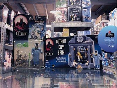 ArtLife @ KENNER 1997 DC Mad Hatter Batman&BANK 蝙蝠俠 瘋帽客 場景組