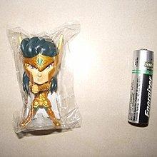 二手聖鬥士星矢Q版mini big head figure黃金十二官編水瓶座一隻($2即賣)