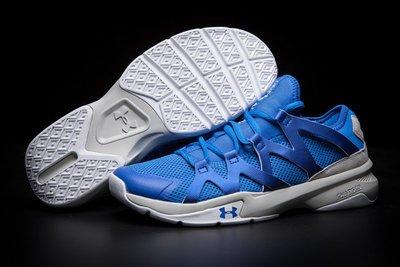 D-BOX  Under Armour UA Charged Phenom 2 藍色 氣墊 休閒鞋
