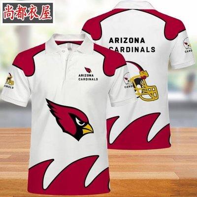 【尚都衣屋】 NFL亞利桑那紅雀隊男女polo衫t恤夏季 philadephia